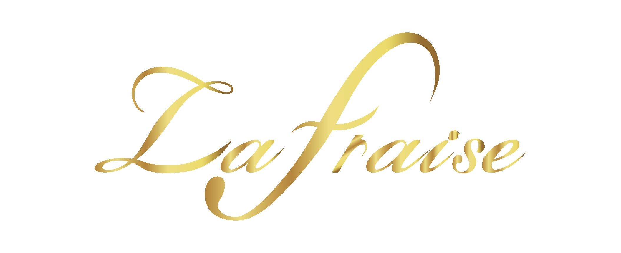 福山市のエステサロン La Fraise(ラフレーズ)のロゴです。